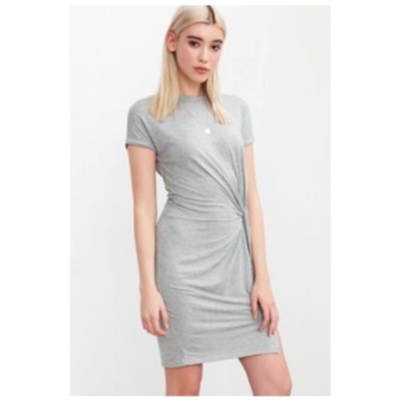 2190f0a928b NEW  60 Silence + Noise Side Knot T-Shirt Dress
